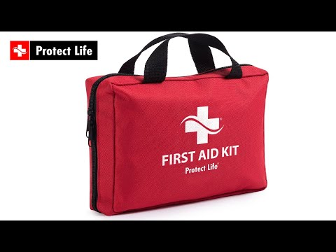 Top Rated First Aid Kit 200 Pieces for Car, Home, Travel, Survival and Emergency