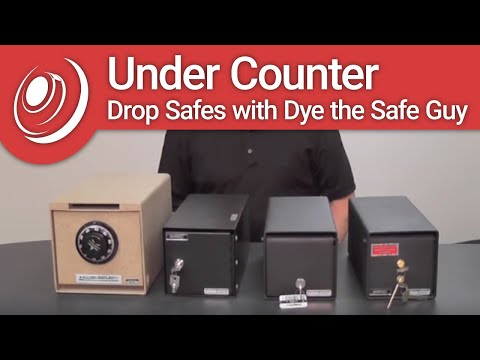 Under Counter Drop Safes with Dye the Safe Guy