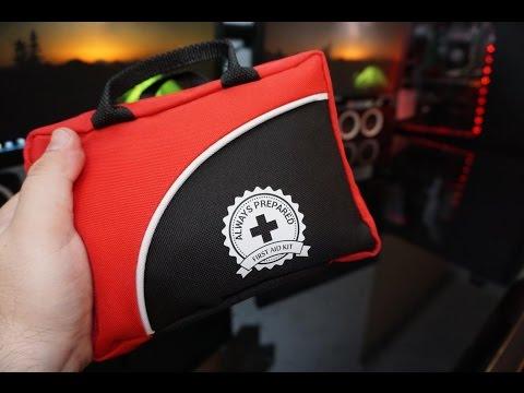 Always Prepared Ultra-Light & Small 100-Piece First Aid Kit