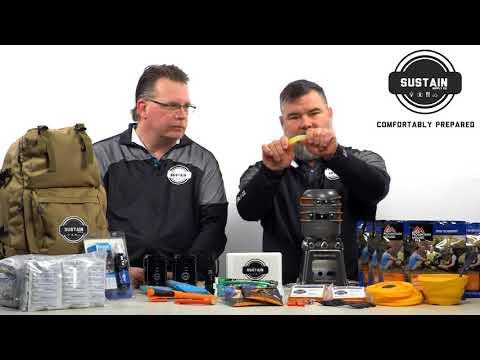 Sustain Supply Co - Comfort4 Survival Kit