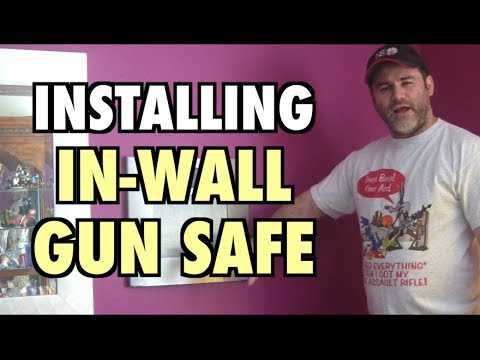 In-Wall Gun Safe Installation