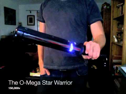 www.omegastunguns.com presents -The O-MEGA STAR WARRIOR 150,000v - Mobile.m4v