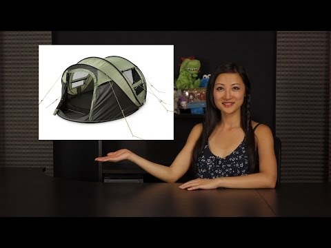 FiveJoy 4-Person Instant Pop-Up Tent: Overview + Demo