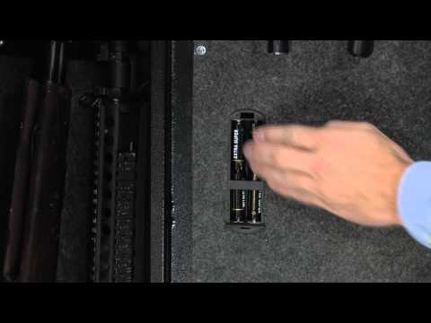 Extra Large Biometric Fingerprint Scanning Rifle Safe by Barska AX11780