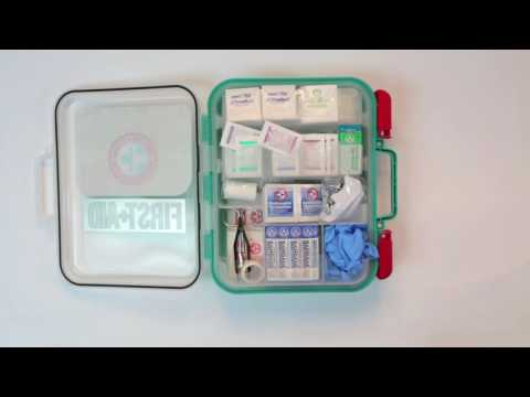 Be Smart Get Prepared 326 First Aid Kit Exceed OSHA ANSI