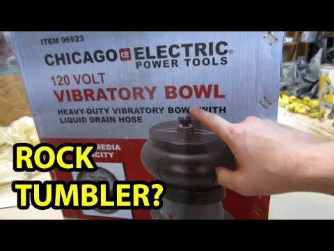 Harbor Freight Vibratory Bowl Review - Unsponsored (Rock Tumbling)