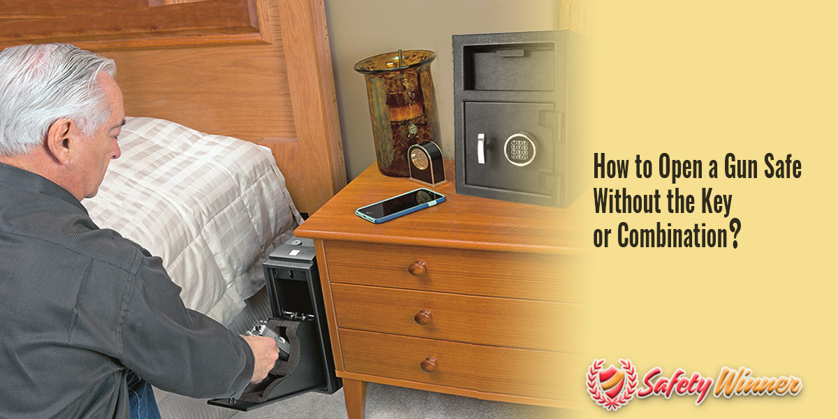 How to Open a Gun Safe Lock Without the Key or Combination