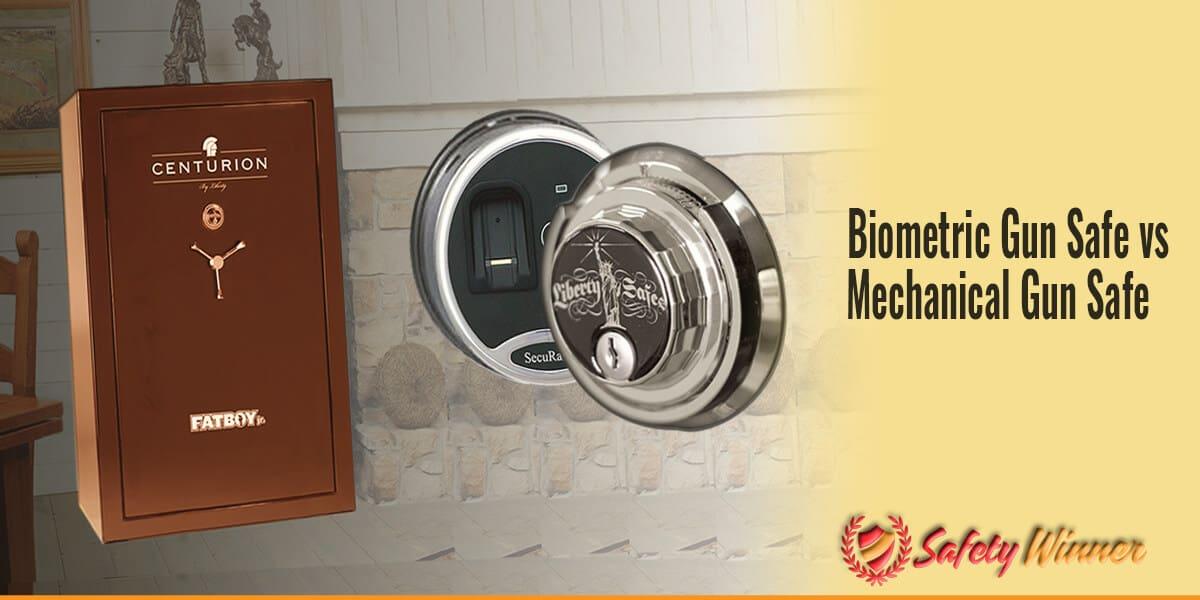 Biometric Gun Safe vs Mechanical Gun Safe