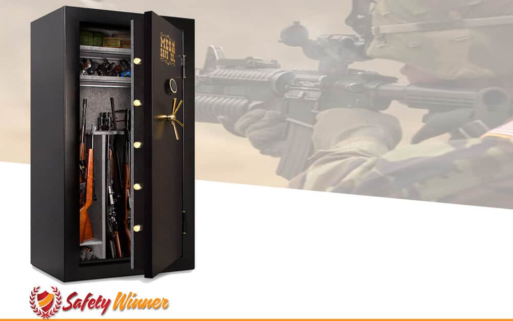 Best Gun Safe Reviews 2019 All Price Type Safetywinner