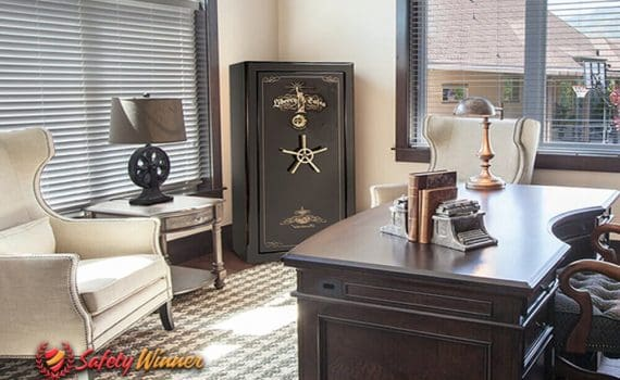 Where to Put a Gun Safe in Your House?