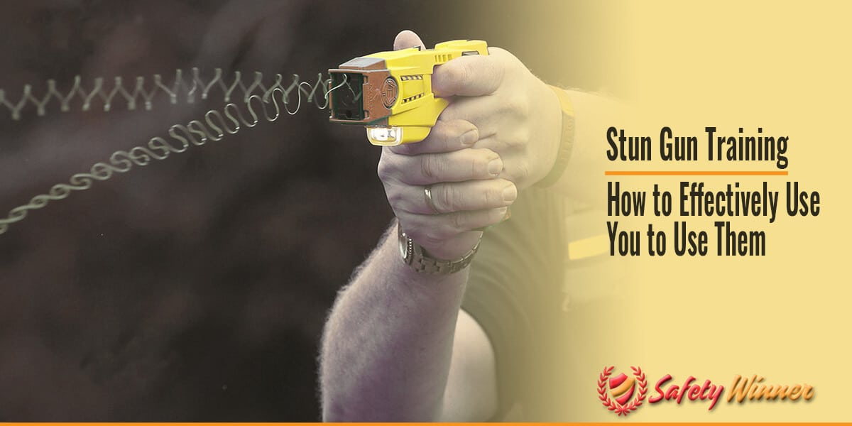 Stun Gun Training: How to Effectively Use Them for Self-Defense?